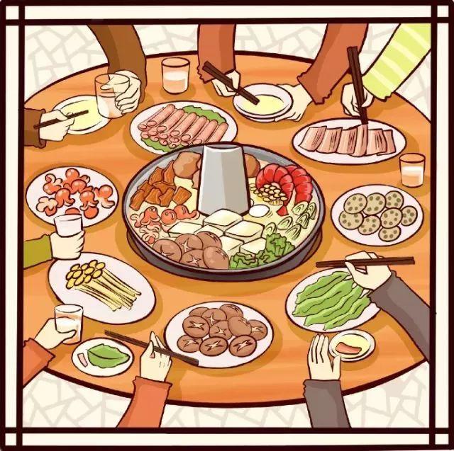 【繪畫教程】火鍋食材簡筆畫教程