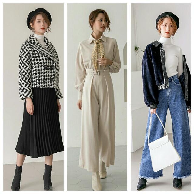 几套秋冬小轻奢穿搭示范,减龄又气质,照着穿绝对美翻天!
