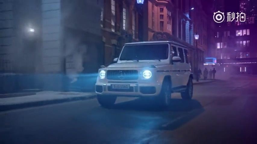 汽车营销 2018 奔驰 AMG G 63:闪电来临,银屏乍破,流光溢彩...