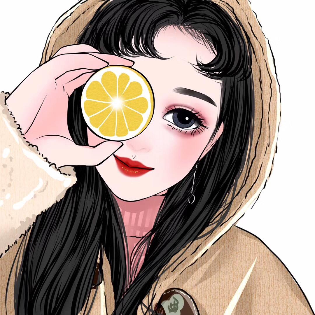 唯美头像插画   来自 @爱尚手绘头像  投稿