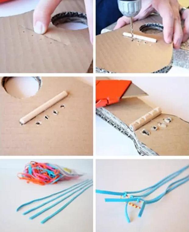 废旧手工:幼儿园废旧物品制作创意手工乐器