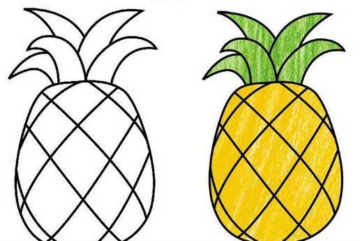 7,猕猴桃简笔画 下面还有桃子,荔枝,草莓,火龙果等水果简笔画,下次一