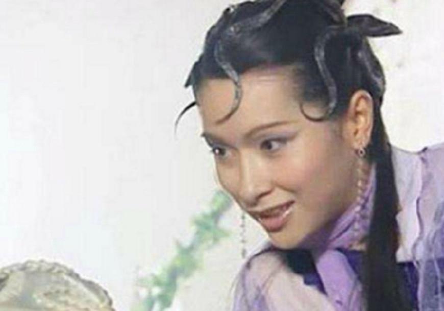 《齐天大圣孙悟空》中,杨恭如的白骨精,这发型给人看起来就像一个蛇精图片