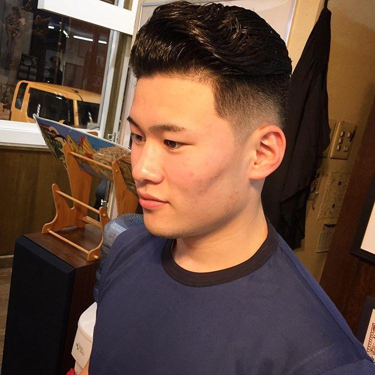 渐层油头,侧分背头,这些男生发型最受欢迎图片