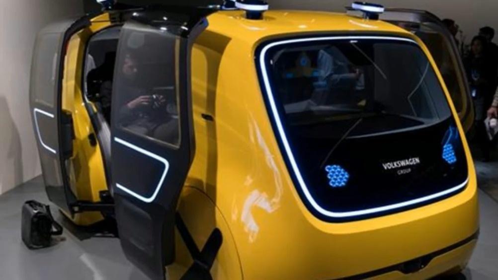 无人驾驶的电动汽车 大众Sedric Coolbus概念车  ?