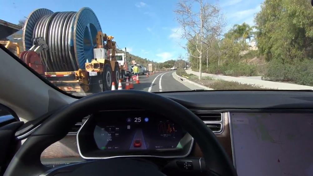 特斯拉自动驾驶 Autopilot 2.0 【特斯拉自动驾驶2.0版本更...