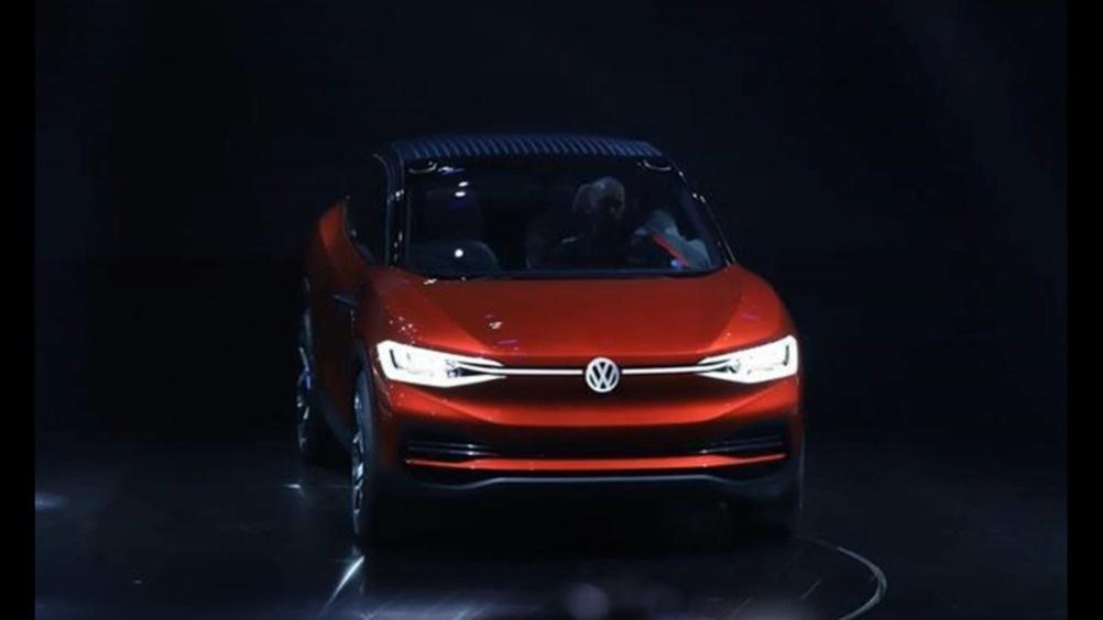 大众全新电动SUV概念车国内首秀 比途锐更期待  ?