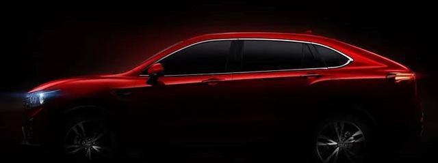 比速T7官方预告图发布,全新SUV轿跑车型,看外观这车已经成功了
