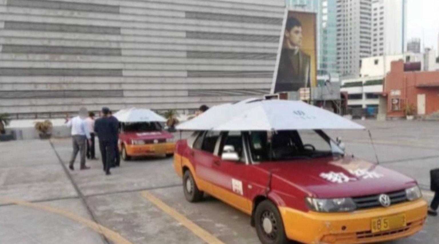 京视频 【驾校藏身7楼天台  员工:很安全!】近日,深圳一驾校被发现非法...