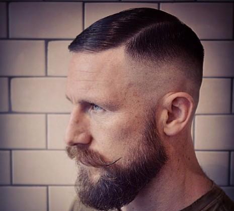 32款男生需要发型!后烫么男士发型的向秃顶图片