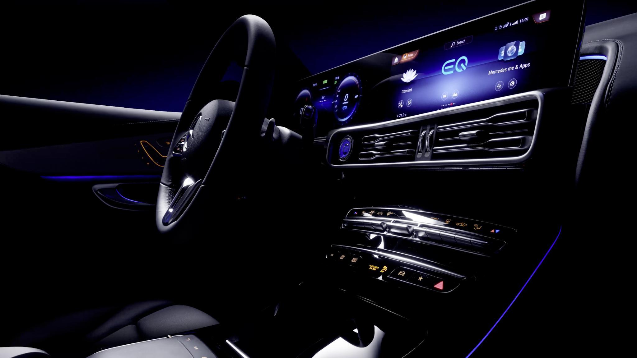 汽车发明者的首款电动车,奔驰EQC将于9月4日发布