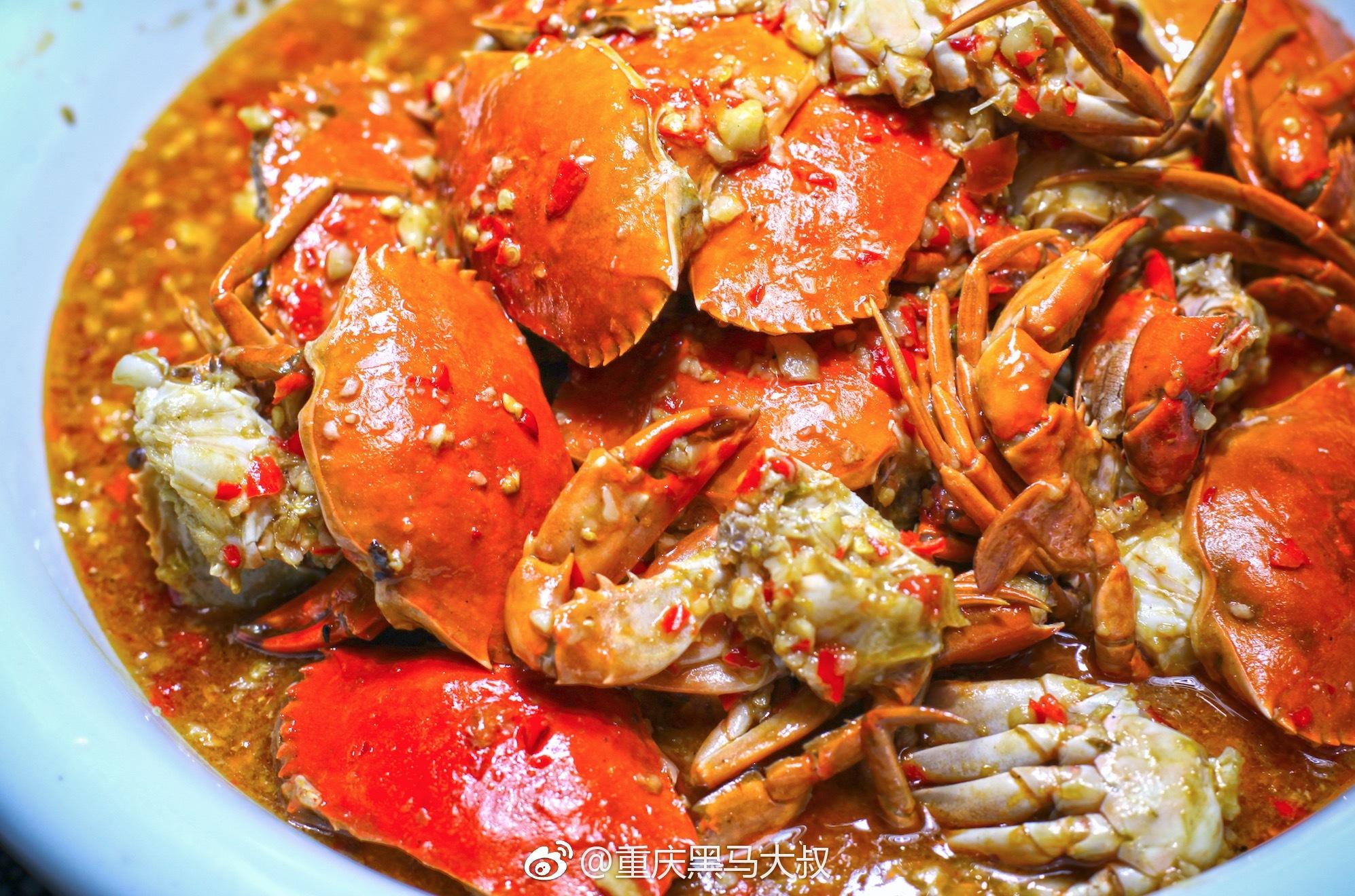 蒸海螃�y�9`f���_重庆城没有大海,却有辣螃海美味让你浪