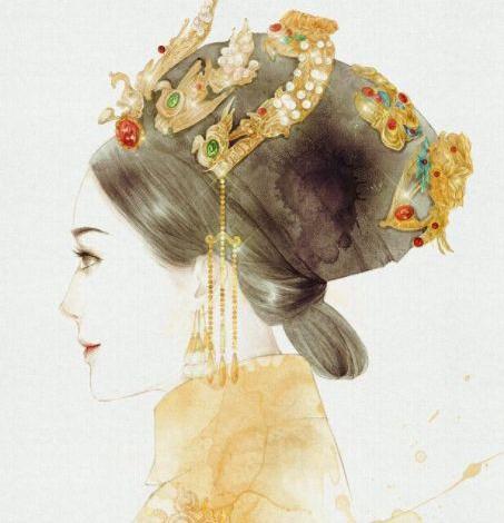 《延禧攻略》角色手绘:富察容音仙,娴妃和善,傅恒璎珞