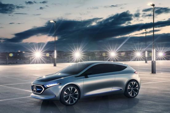 奔驰EQA路试谍照曝光,新车预计将于2020年上市