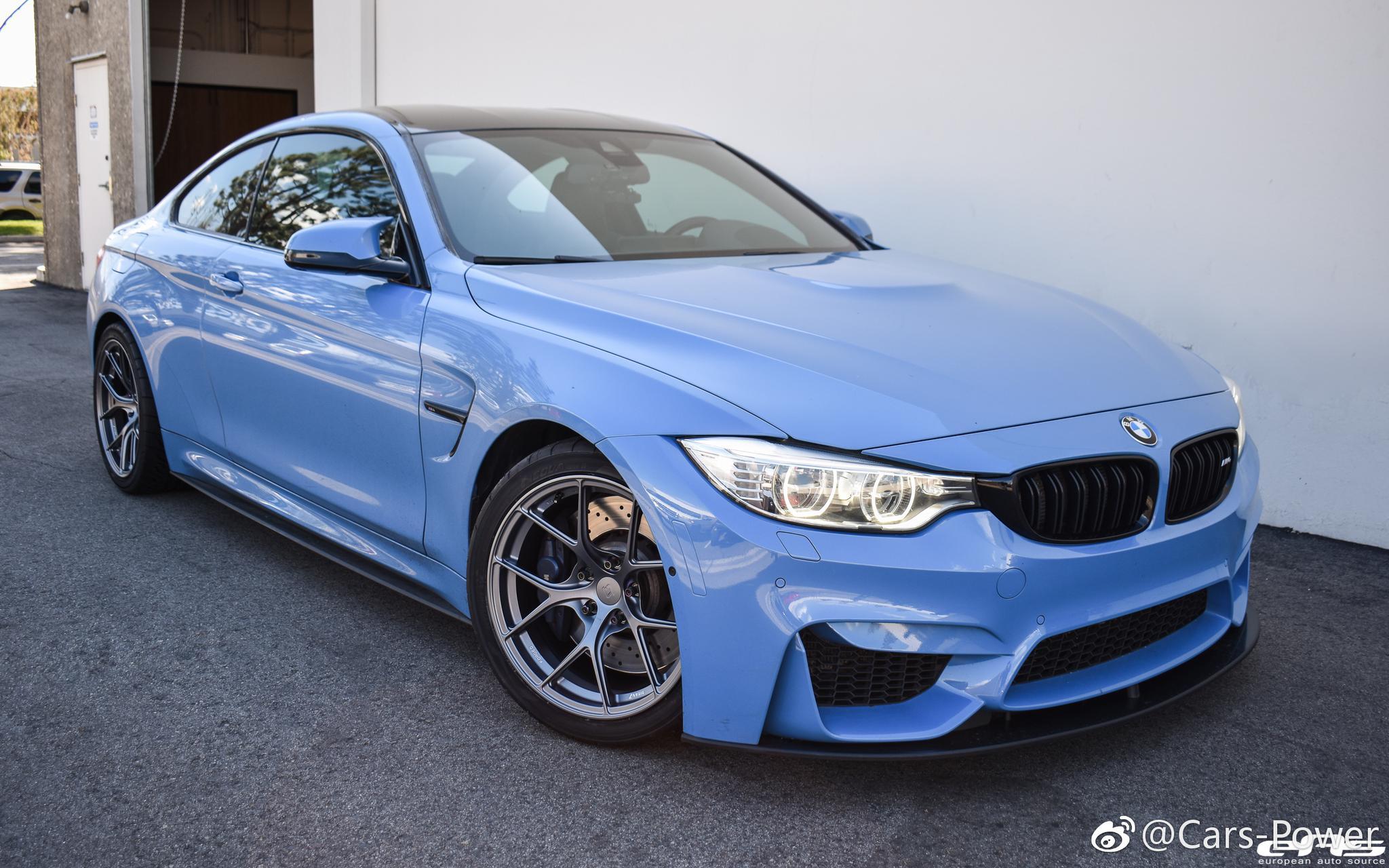 Yas Marina <em>Blue</em> BMW M4 F82