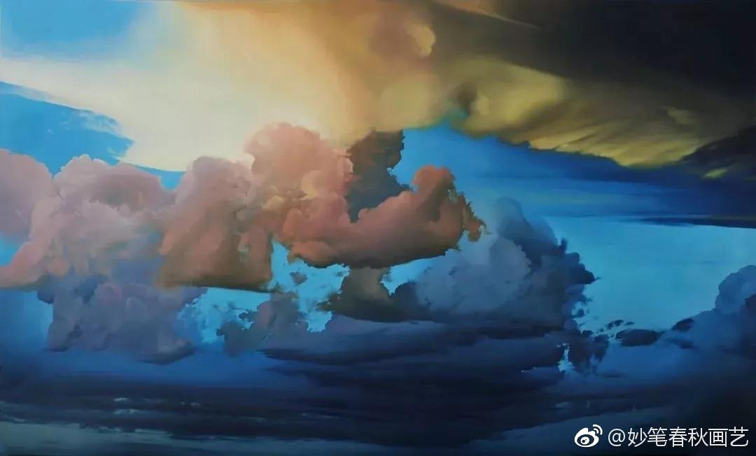一朵云画10年丨加拿大画家ian fisher(一)