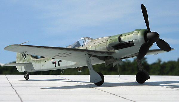 二战后期德国最强战斗机fw ta152德国活塞式战斗机之王