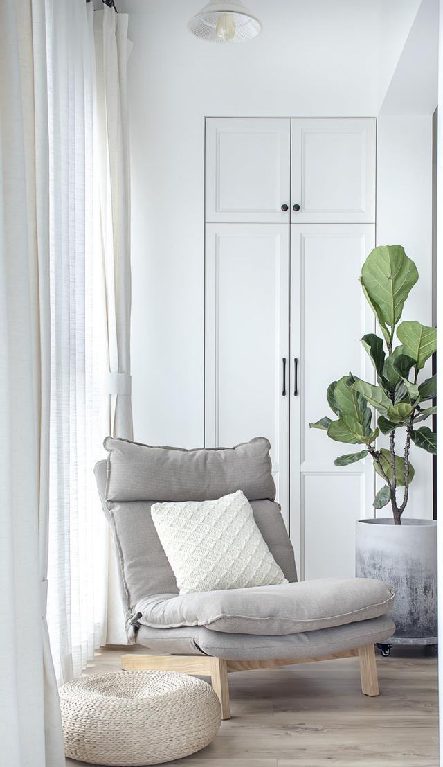 把阳台装修进客厅怎么样?武汉90平两居室,用装修实景图告诉你!