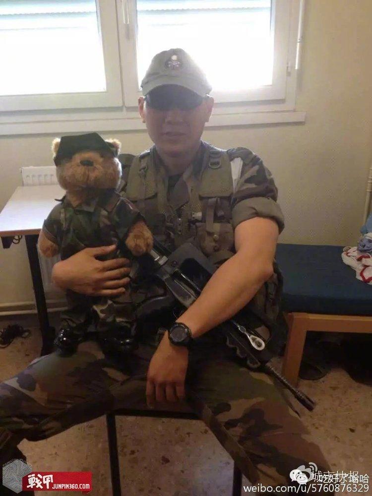 外籍军团傅晨_另类外援——法国外籍军团中的中国人