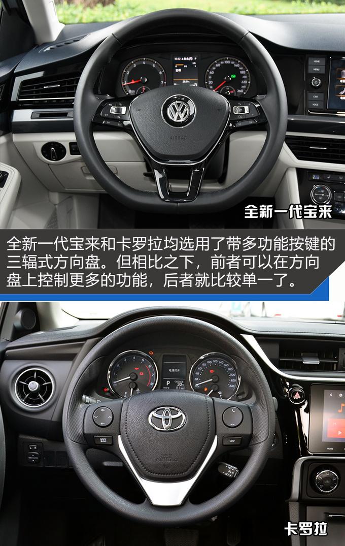 谁是年轻家庭购车首选?全新一代宝来对比丰田卡罗拉