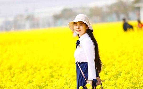 兰陵国家农业公园万亩油菜花盛情绽放