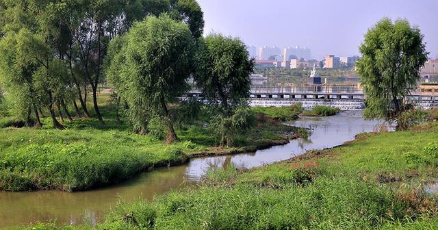林州河流之洹河图片