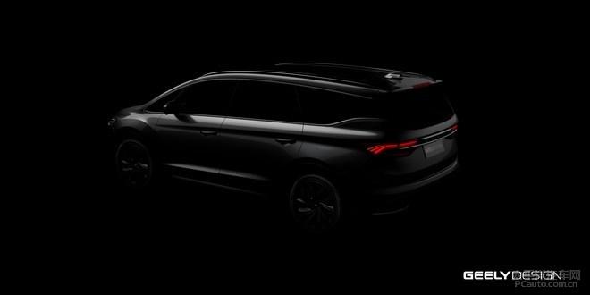 """吉利发布首款MPV车型官图 新车正式定名为""""嘉际"""""""