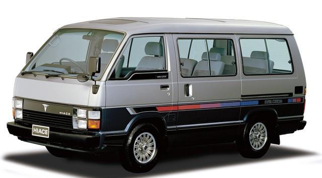 丰田HIACE疾驰50年新款改良油耗竟然能省14%!
