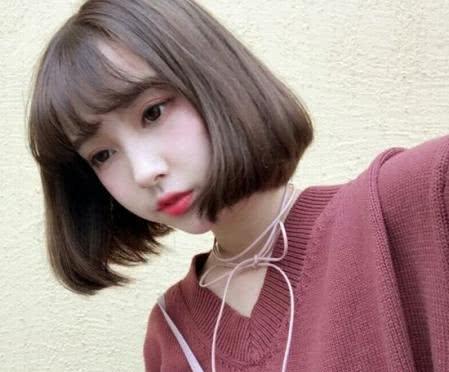 发型女生适合样的人气?新款个性发型圆脸发型马蒂露图片