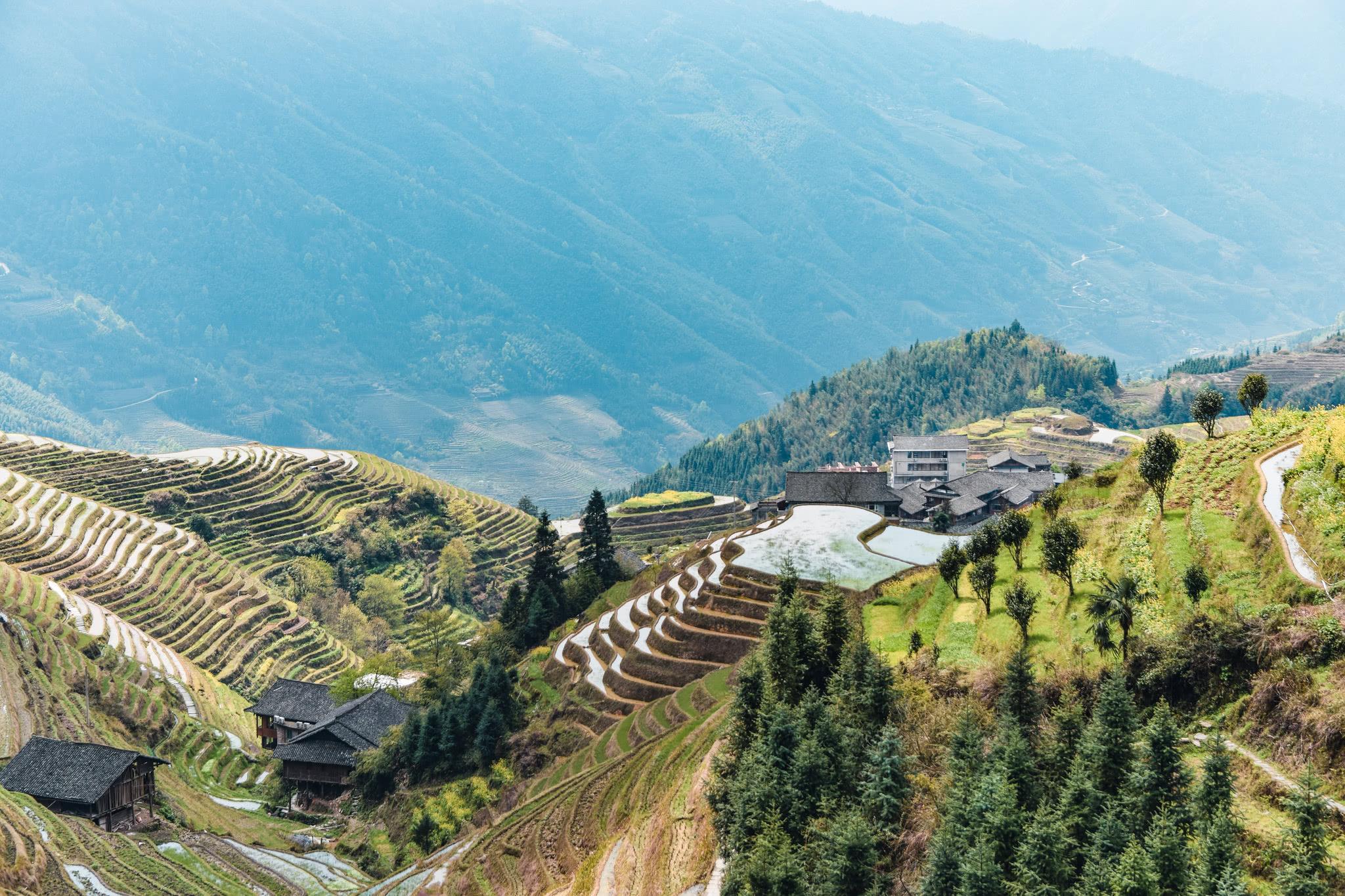 种地壁纸_中国最幸运的村子,祖辈上山开垦梯田,后辈靠种地发展