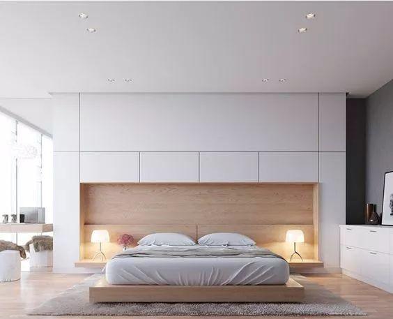 设计美感,又非常实用 很受现代年轻人的喜欢 墙柜背景还可以跟床头柜图片
