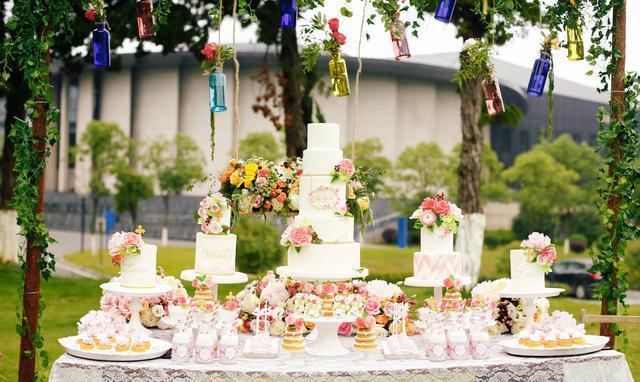婚礼甜品台,你知道多少?图片