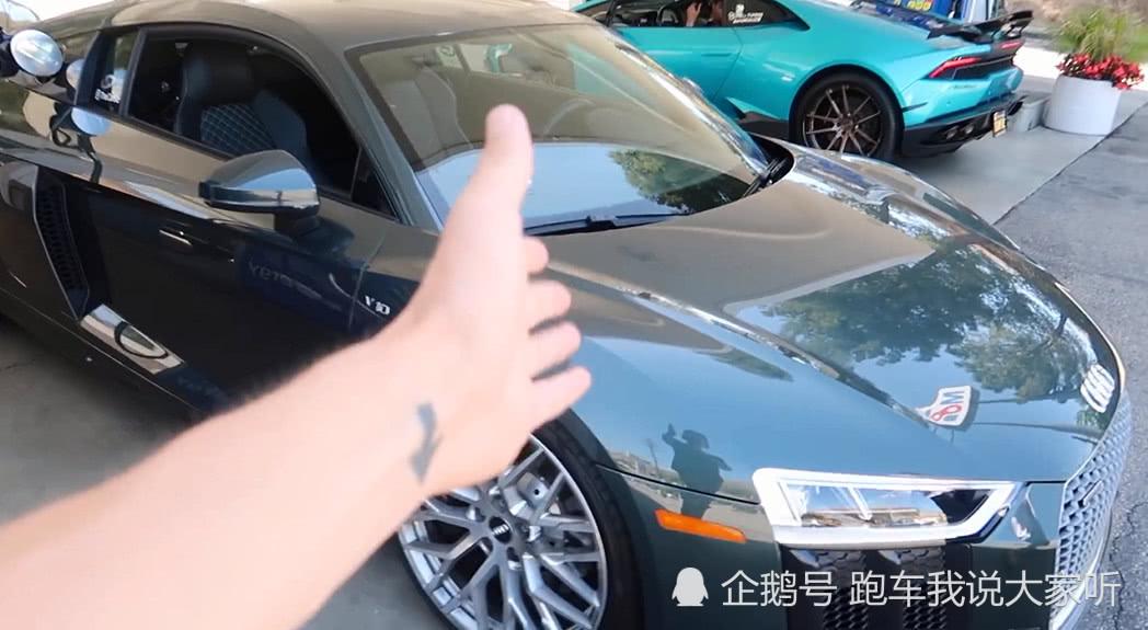 小伙晒朋友的跑车,网友看后:方向盘暴露了你的车!