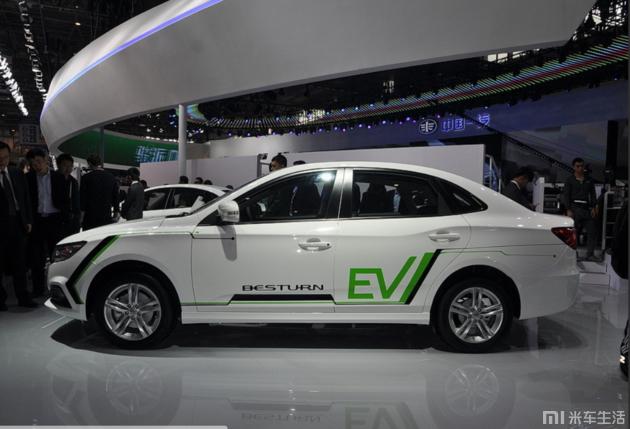 国产新能源汽车又添一员虎将!奔腾B30EV补贴前售17.38万起!