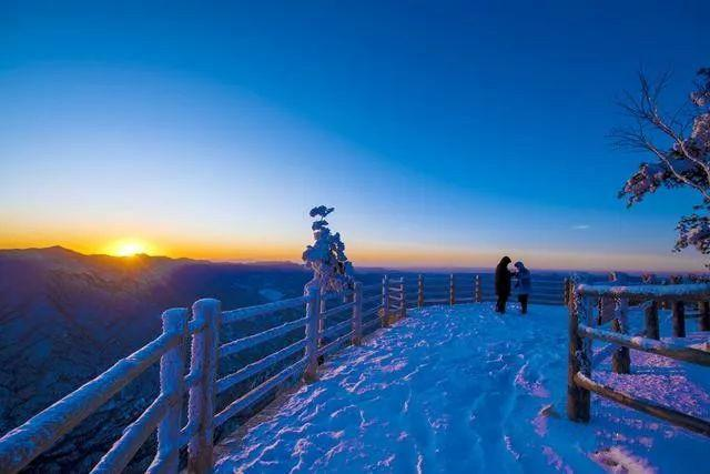 秋去冬来,洛阳栾川现在最值得一去的几个景区,初冬游玩来栾川!图片