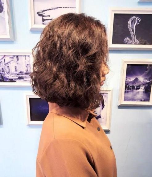 """女生头发稀少不能烫发?20种流行的""""可卡烫""""总有你适合的!"""