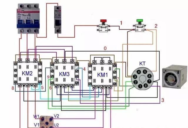 配电通|54种电动机电气控制电路接线图