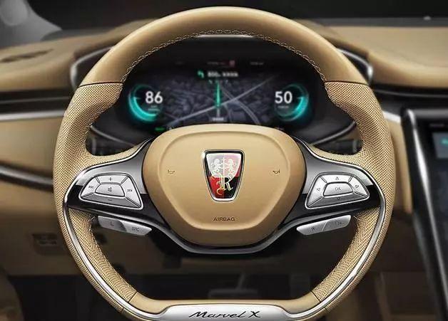 荣威最贵的suv卖46万整车都是屏,不烧油跑500km,奔驰都a整车锐界神行者哪个好2018图片