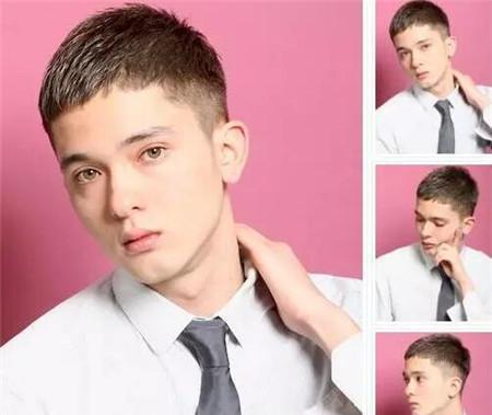 2018男生发型流行趋势 简约纹理烫成主流图片