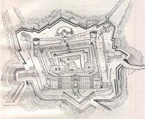 当数学遇上战争,城墙防御的最强王者星形要塞图片