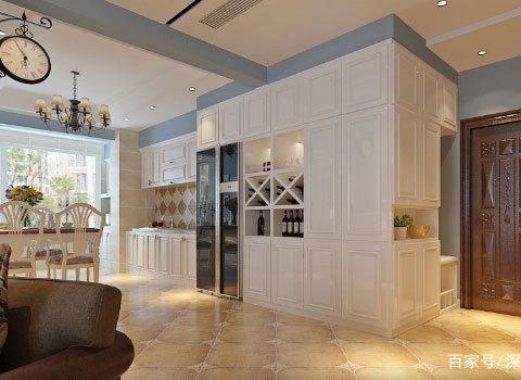 爸妈解决的120平婚房,因为白色装修而装修的婆媳a白色服装店墙纸房子图片