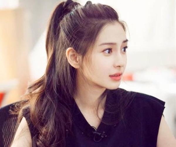 """赵丽颖等四女性,引领""""小苹果""""发型,这样扎你会了吗?图片"""