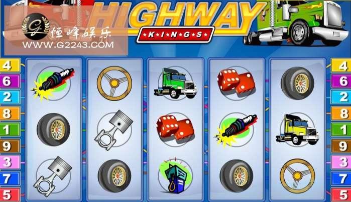 超级高速公路之王 恒峰娱乐pt电子游戏上演速度与激情