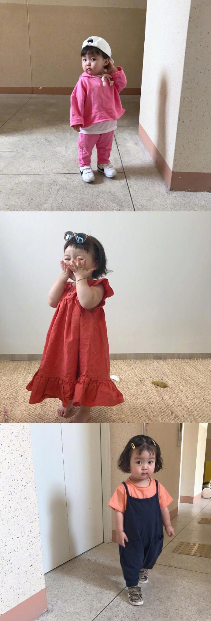 好想养一个如此可爱的小胖妞(ins:jinmiran_)