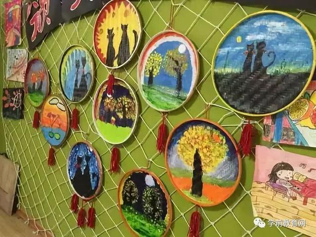 环境布置:秋季期幼儿园走廊,楼梯手工环创布置,太棒了!