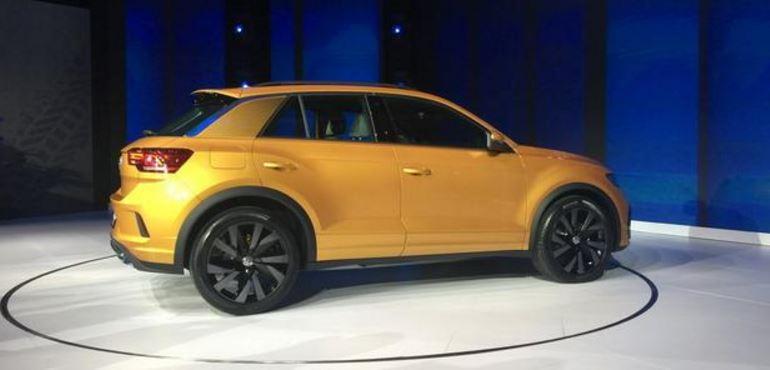 大众T-ROCSTAR最新消息,全新5座SUV车型,2018年正式量产