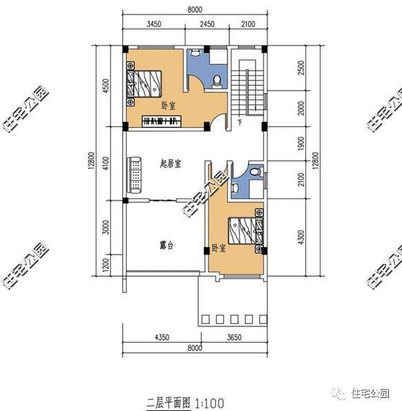7套8米面宽农村别墅,第5套两层16万你建吗?图片