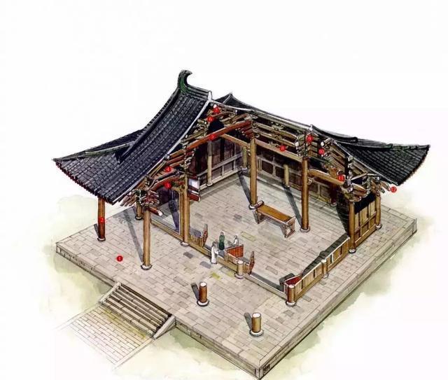 """台湾学者走遍中国,手绘古建筑""""解剖图"""""""