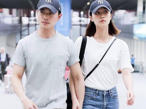 蓝盈莹与男友穿情侣装同框被赞好幸福,但曹骏一个举动被批没礼貌