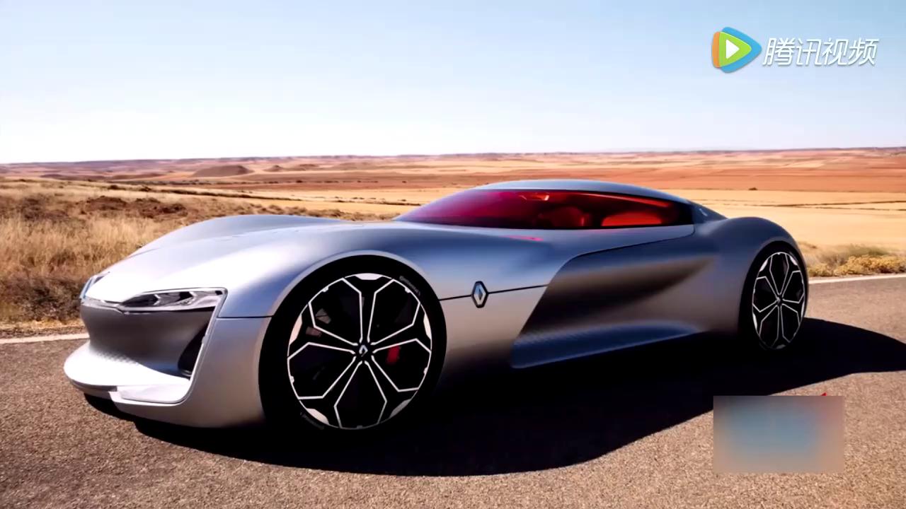 没有门 没有问题 雷诺Trezor概念车从未来行驶而至